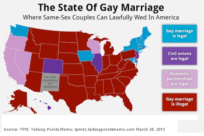 Gay legal marriage state