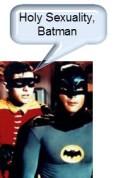 holy sexuality batman