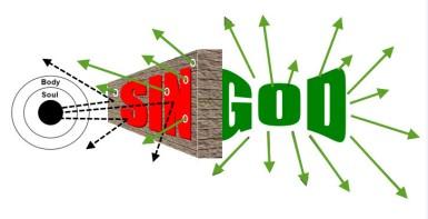 sin blocks God big sin