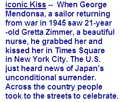Iconic kiss text1