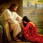 mary at Jesus feet1