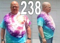 238 pounds