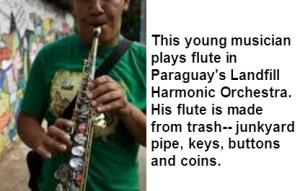 junkyard flute