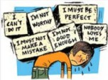 low self esteem