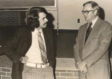 Harold Martin and me
